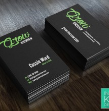 Grow Riverview Business Cards