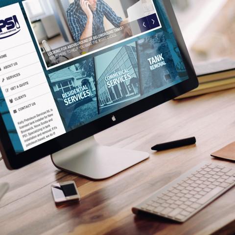 Kelly Petroleum Website created by Inkedkoi Designs